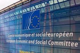 Fotografía de la sede de el Comité Económico y Social Europeo