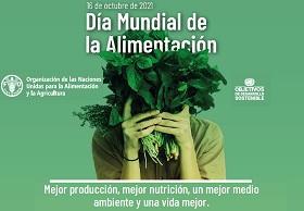 Banner del día mundial de la alimentación 2021