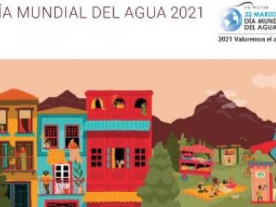 banner del día mundial del agua 2021